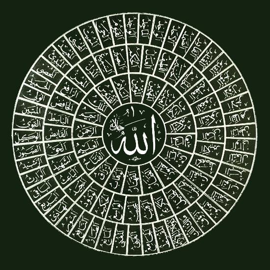 ... nama yang indah atau lebih terkenal dengan sebutan Al-Asma-ul-Husna